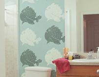 Angler Fish wallpaper & decal