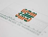 Identité visuelle / Le grand musée de Marrakech