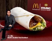 McDonald's Mac Snack Wrap