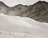 Xinjiang Sand Mountains. Karakoram Project.