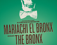 Mariachi El Bronx / The Bronx poster design