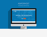 AskForHost - Website branding & design