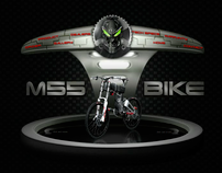 webpage design m55-electric bike