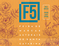 GRAPHIC + SOCIAL MEDIA + EVENT // F5 - Feira de Marcas