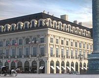 Boucheron Place Vendôme CGI