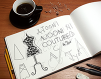 Logo Design | AJOONI COUTURE