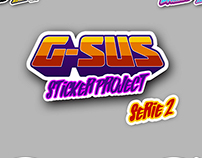 G-SUS STICKER PROJECT SERIE 2