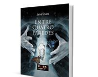 'Entre Quatro Paredes'-Book Cover Design/ Illustration