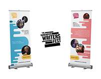 Vancouver Writers Fest Banner | ZG Communications