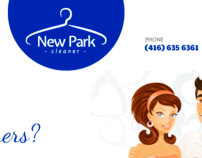 New Park Cleaners Website