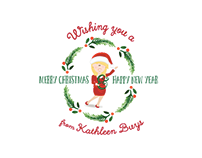 Custom Christmas Card- Kathleen