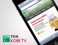 TEB KOBİ TV ( Mobile Site )