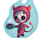 Sugar skull devil
