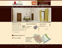 Narinyas Builders - Web/UI Design