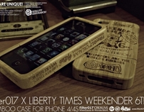 Filter017 X Liberty Times Weekender Bamboo iPhone Case