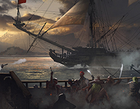 Capture of the ship TightropeGames