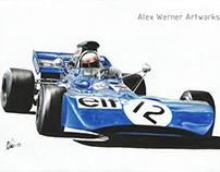 Tyrrell 003 - Jackie Stewart 1971