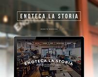 Enoteca La Storia Redesign