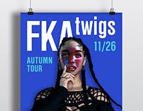 FKA twigs poster