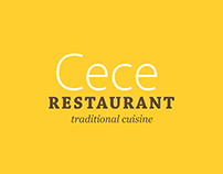 Cece Restaurant Branding