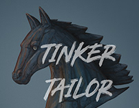 Tinker Tailor Soldier Spy - Chessfigure Illustration