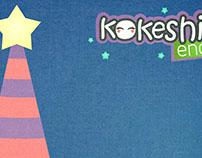 Navidad Kokeshi
