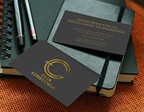 Logotipo e Cartão de Visita - Casa Constância