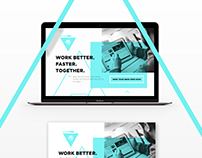 SymbiOne Website Design /// Berlin
