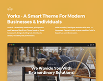 Yorks Smart Theme For Modern Businesses & Individua