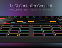 Custom Midi Controller Concept