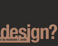 What is design? Interview with Charles Eames