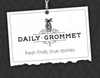 Daily Grommet: Wireframes