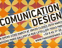 Communication Design Show 2010 @ Parsons Paris