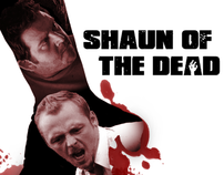 Shaun of the Dead Movie Poster Redesign