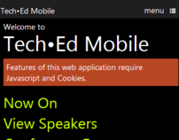 Tech.Ed Mobile