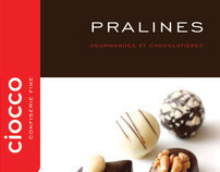 Ciocco / maquette / gamme de confiserie fine