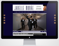 Janelle Monae Website Design (Home Page)