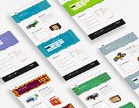 Webdesign - Retro Brussels (non responsive)