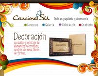 Website Creaciones Su