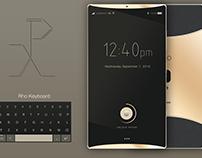 Rho™ - New Smartphone Concept W.I.P.