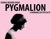 """""""Pygmalion"""" Poster (Class Project, Fall 2010)"""
