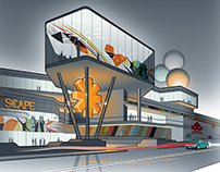 Scape Community Centre Concepts - Singapore