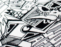BRAINSTORMING/BLACK INK