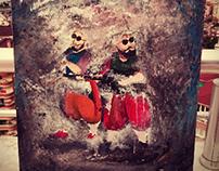 Blues Brothers.. Painter:Merve Karlı