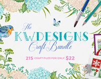 The KWDesigns Craft Bundle