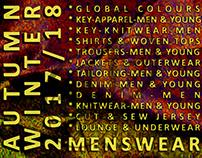 MEN'S WEAR - AUTUMN WINTER 2017/2018 TREND FORECAST
