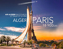 AIR ALGERIE shortens distance and price
