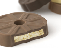3D Chocolate Biscuits - Realisation