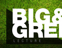 Big & Green Lecture Invitation
