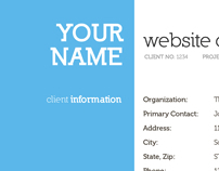 Web Business Collateral - Contract, Proposal...